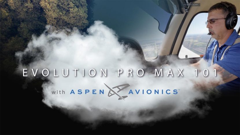 Aspen Avionics Evolution Pro MAX 101
